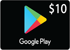 Google Play Gift Card $10 (US Store)