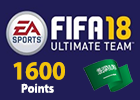 FIFA 18 Ultimate Team 1600 Points (Saudi Store)